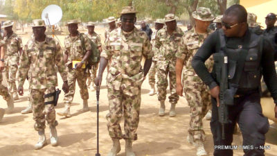Army chief says troops advancing into major Boko Haram enclave