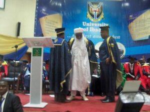 Dangote Donates N250m to University Of Ibadan, as Sultan Sa'ad Abubakar III performs second convocation as UI Chancellor
