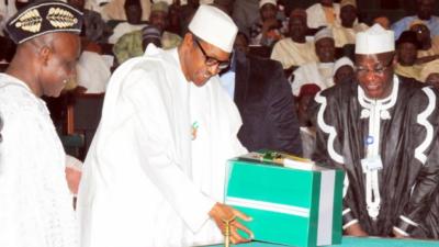 Buhari presents 2017 budget to NASS December 14