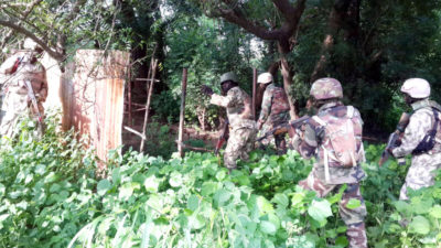 I'm glad at Sambisa's capture by troops, Says Buhari