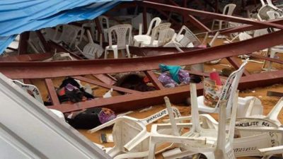 Church Collapse: Death toll rises as Gov. Emmanuel commiserates with victim's families