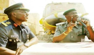 Customs impound helicopters worth N4.2bn at Lagos airport