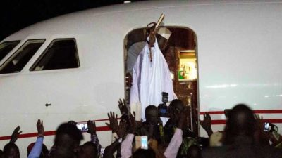 Gambia Latest: Jammeh heads to Equatorial Guinea on exile – ECOWAS