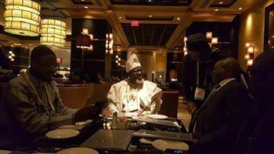 Photo News: Nigeria's Communications Minister, Adebayo Shittu, in US