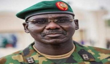 Buratai lays foundation for Southern Kaduna military formations