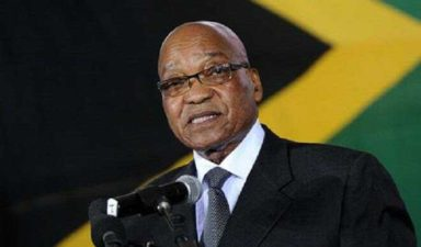 South African President condemns violence against foreigners