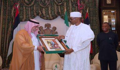 Buhari hails Nigeria/Saudi relationship