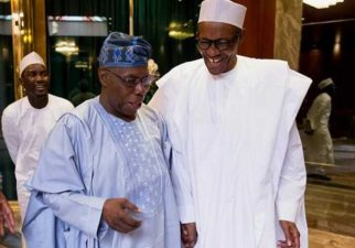 You are true citizen of the world, Buhari tells Obasanjo as he clocks 80