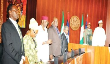 Buhari presides over FEC meeting after vacation