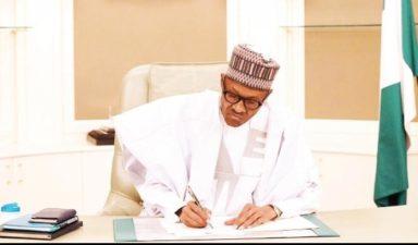 Buhari signs treaty on Abidjan-Lagos corridor
