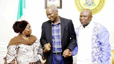 Ambode makes u-turn, commends Fashola for serving Lagos meritoriously