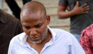 IPOB: Court orders re-arraignment of Kanu for treason, dismisses 6 count charges against him