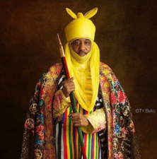 President Buhari condoles with Emir of Kano, HRH Sanusi II, over uncle's death