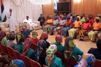Release of 82 schoolgirls pleasant 2nd anniversary gift to Nigerian people, Buhari declares
