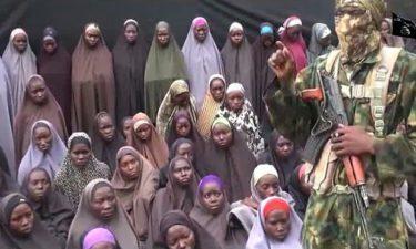 Abba Kyari welcomes rescued 82 Chibok schoolgirls to Abuja