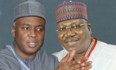 How Saraki, Lawan shut PDP Senator Ohuabunwa down from causing disruptions over Buhari's letter
