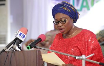 Wife of Lagos Governor warns parents, guardians against child labour