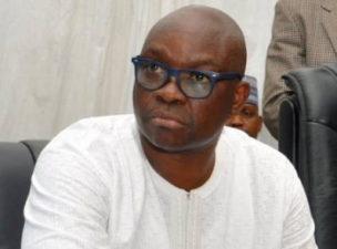 At last! APC governors warn Ekiti Governor, Fayose, against playing politics with Buhari's health