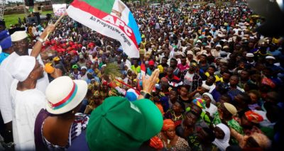 Oyegun, Borno, Kebbi Governors Storm Osun, mobilise supports for APC candidate