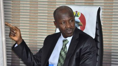 Patriotic lawyers to defend Magu in court, urge EFCC boss to remain undaunted