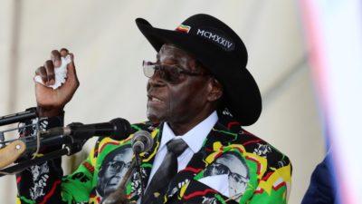 Mugabe boasts he will not step down, die
