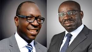 Obaseki finally floors Ize-Iyamu as Supreme Court declares APC candidate valid as elected Edo Governor
