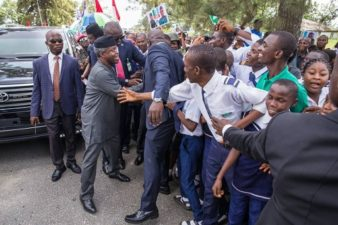 Amaechi supporters boo Wike during Osinbajo's visit