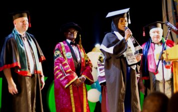 Osun on world stage as 50 Nigerian students steal show at Ukrainian varsity graduation