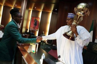 Buhari gets standing ovation as he presides over this week FEC meeting