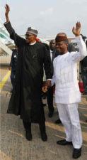After medical vacation, Buhari finally returns