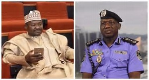 """Police discover """"wanted criminal"""" in Senate Chamber, say Senator Mamman still serving police officer"""