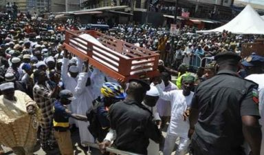 Eulogies, tributes as Lagos Chief Imam is buried