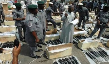 Illegal arms importers offer Customs officials N1.4m bribe, suspects plead guilty