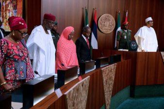 PHOTO NEWS: Federal Executive Council meeting this week in Abuja, presided over by President Muhammadu Buhari (GCFR).