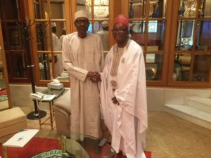 President Buhari receives Crescent Varsity VC ahead of 9th convocation