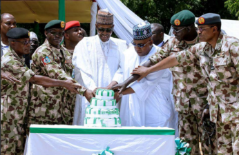 Buhari marks national day with Army in Maiduguri – Presidency