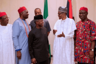 We can't say because we are PDP states distance ourselves from development, South East Governors explain meeting with Buhari