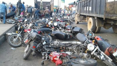 """Lagos Task Force vows to enforce Traffic Law 2012 in total, as """"sister security Agency"""" aid muscreants in attack of its truck"""