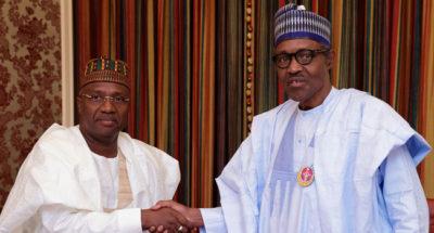 Adamawa Governor, Jibrilla, meets Buhari, says no plan to dump APC