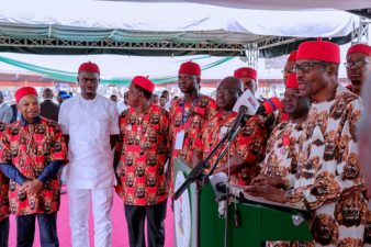 """Igbo is Nigeria and Nigeria is Igbo"", President Buhari declares as he tells how he locks his handsets in drawer to avoid pressure over cabinet reshuffle"