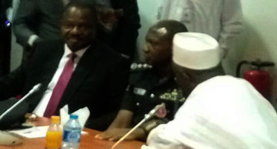 BREAKING: IGP shows up in Senate over Misau's allegations