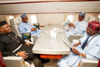 2019: Buhari hints on contesting again