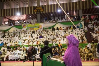 Wife of President presents certificates to 1000 beneficiaries in Bauchi
