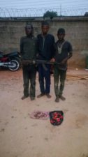 3 herdsmen held over attempted murder, unlawful possession of firearms