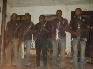 """Benue """"sponsored"""" machineries arrested by 93 Battalion soldiers"""