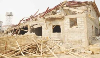 FCTA demolishes Patience Jonathan's property