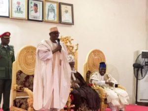 "Buhari in Yola, boasts of fulfilling major promises, as Lamido Adamawa calls opposition to President's seeking re-election ""empty barrel Nigerian elites"""