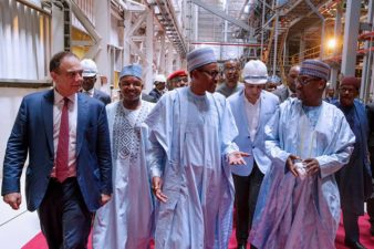 Our cardinal objective of looking inwards for economy growth paying off, President Buhari says, as he commissions N50b Flour Mills investment in Niger