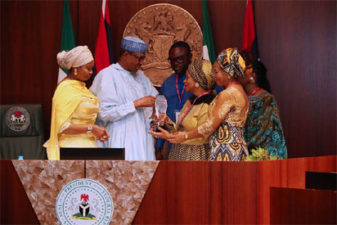 Breaking: Buhari bags 2018 Black Excellence, Leadership Award