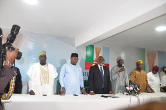 #Ekiti2018: APC in all-out movement for Fayemi, assigns Gov Bagudu's 77-man campaign council for state